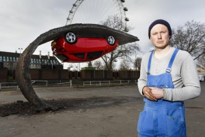 Vauxhall et Alex Chinneck