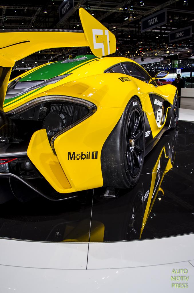 McLaren P1 GTR - Genève 2015