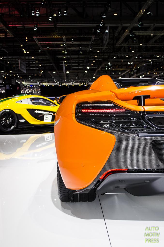 McLaren 650S Spider - Genève 2015