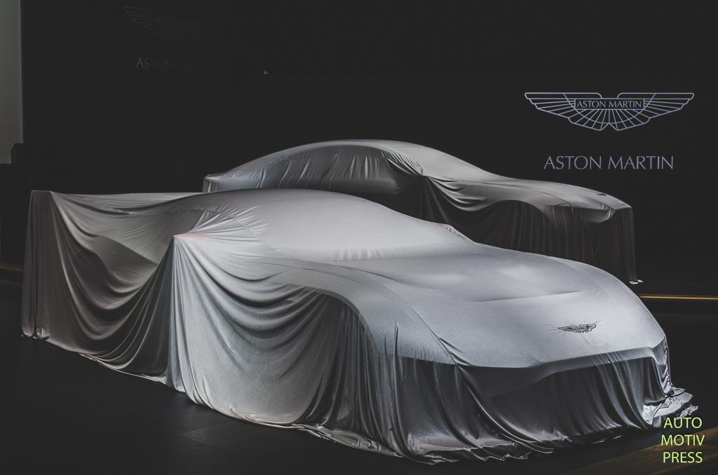 Salon de Genève 2015 - Aston Martin