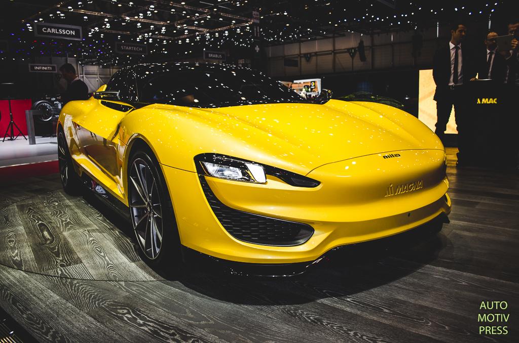 Salon de Genève 2015 - Magna Mila Plus hybride