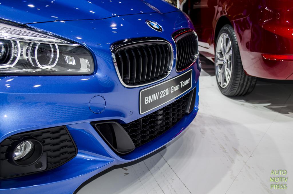 Salon de Genève 2015 - BMW Série 2 Tourer