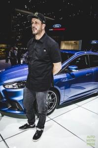 Salon de Genève 2015 - Ford - Focus RS 2015 & Ken Block