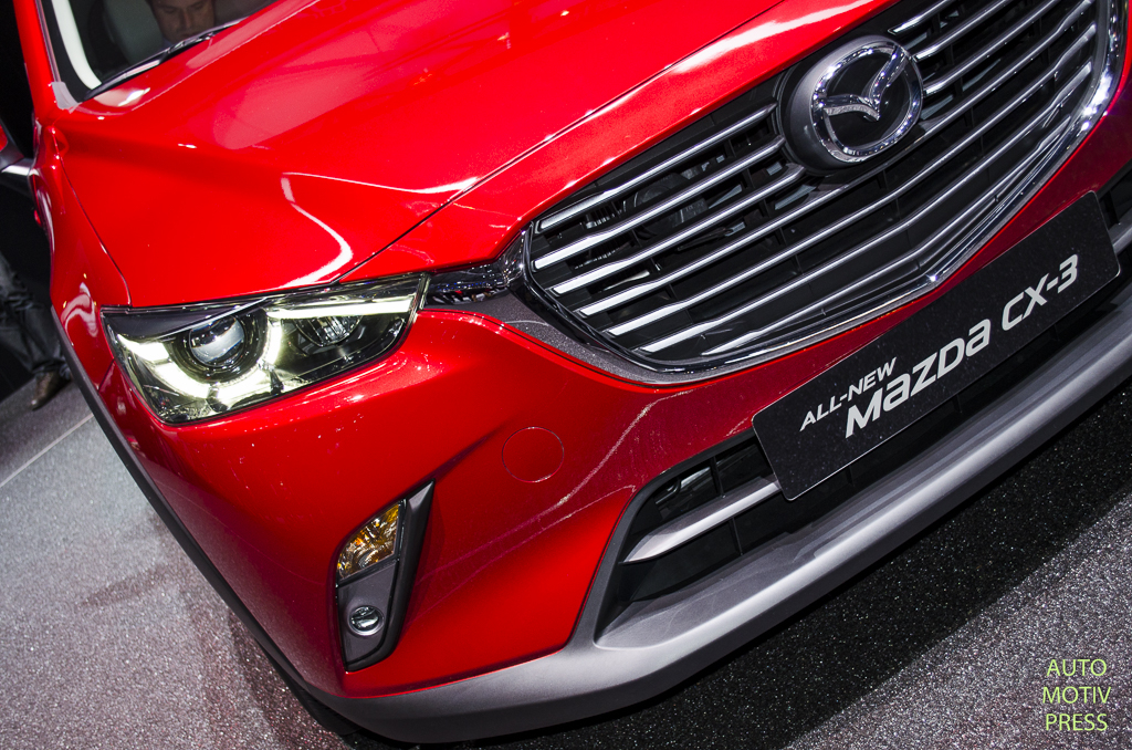 Salon de Genève 2015 - Mazda CX-3