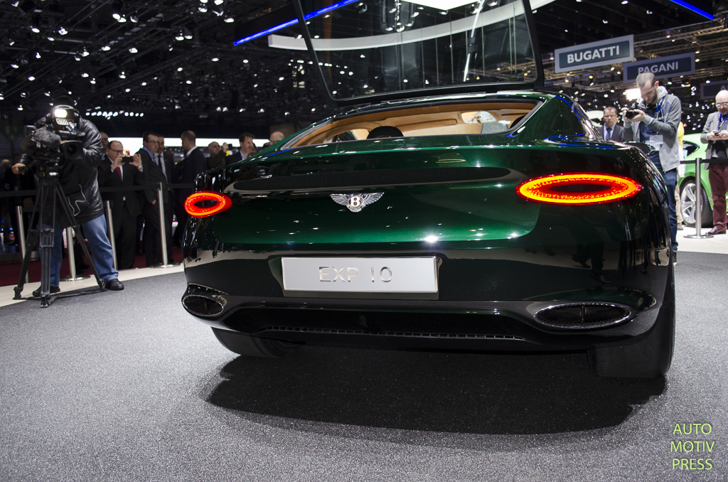Salon de Genève 2015 - Bentley EXP10 Speed 6