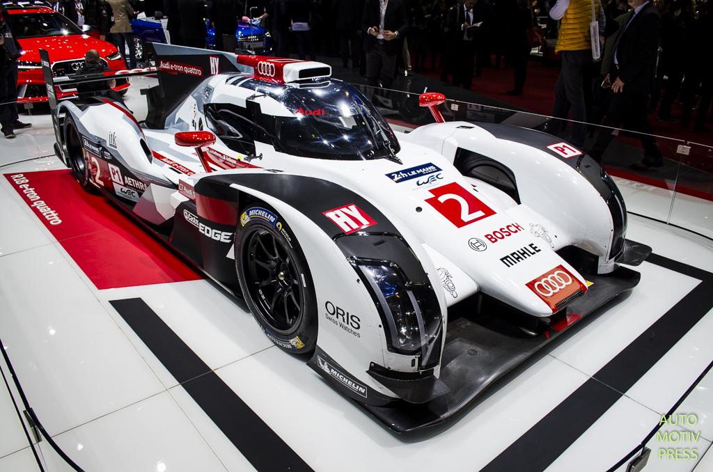 Salon de Genève 2015 - Audi R18 e-Tron Quattro