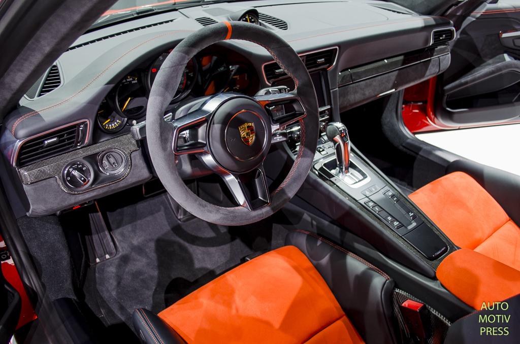 Salon de Genève 2015 : Porsche 911 GT3 RS