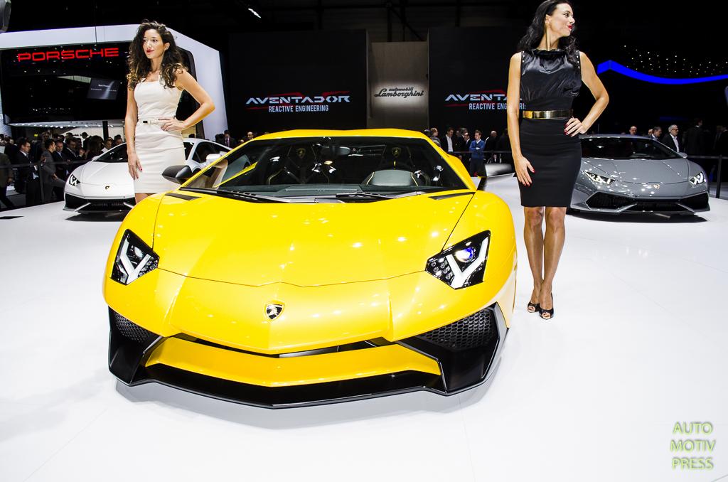 Salon de Genève 2015 - Lamborghini Aventador LP750-4 Super Veloce