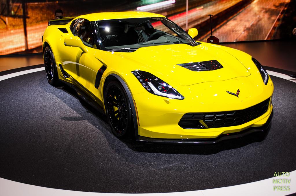 Salon de Genève 2015 - Corvette Z06