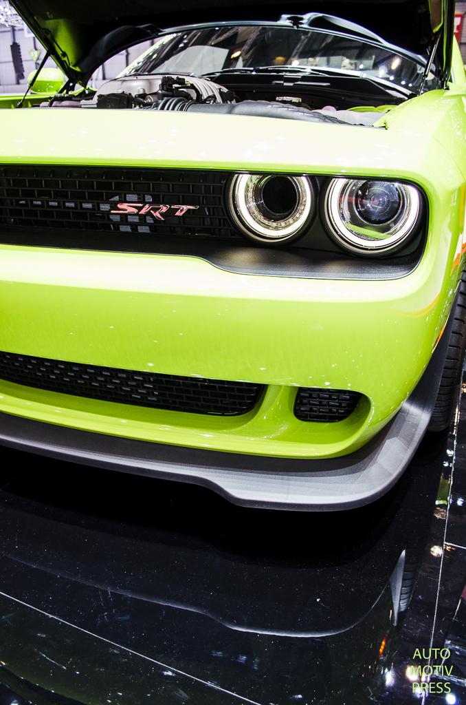 Salon de Genève 2015 - Dodget Challenger Hellcat SRT