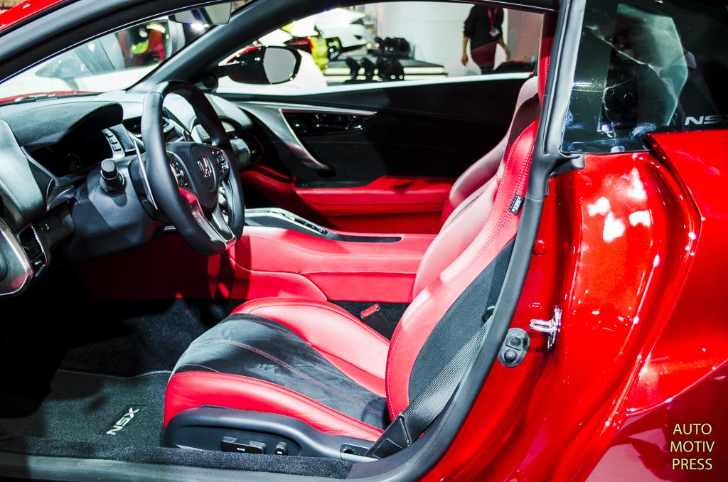 Salon de Genève 2015 - Honda NSX