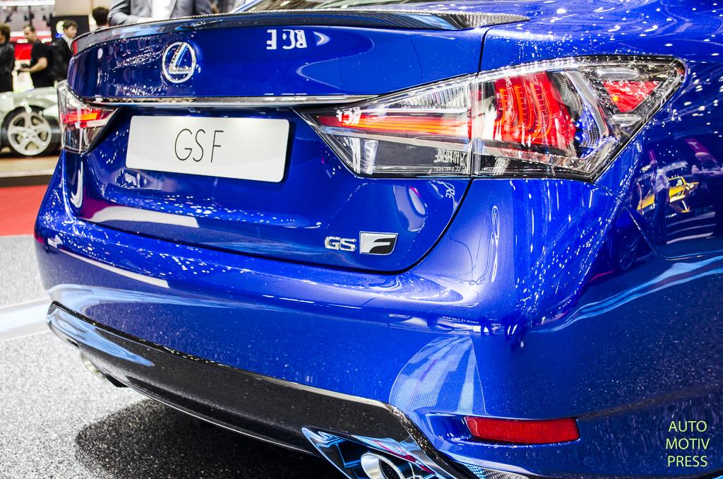 Salon de Genève 2015 - Lexus GS-F