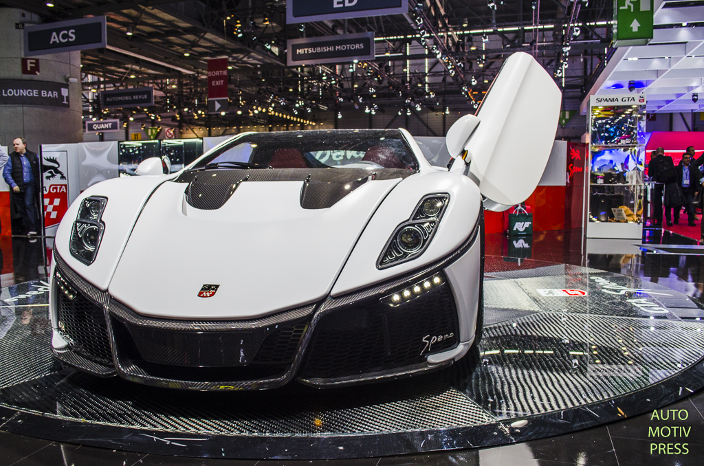 Salon de Genève 2015 - Spania Spano GTA