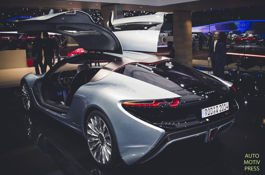 Salon de Genève 2015 - NanoFlowcell Quant F Concept