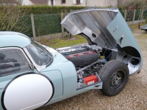 Jaguar Type-E 1963 - Jean-Pierre Lajournade