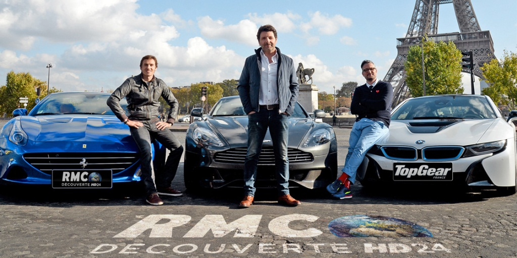 Top Gear France - Bruce Jouanny, Philippe Lellouch, Le Tone