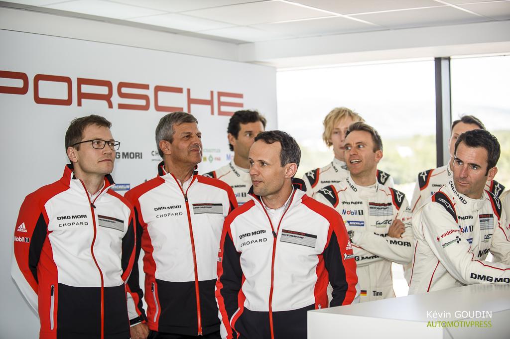 Porsche 919 Hybrid 2015 - Prologue FIA WEC Castellet Paul Ricard - Joris Clerc