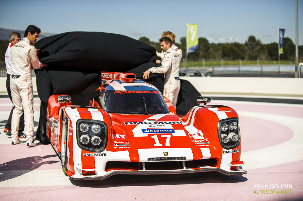 Porsche 919 Hybrid 2015 - Prologue FIA WEC Castellet Paul Ricard - Kevin Goudin