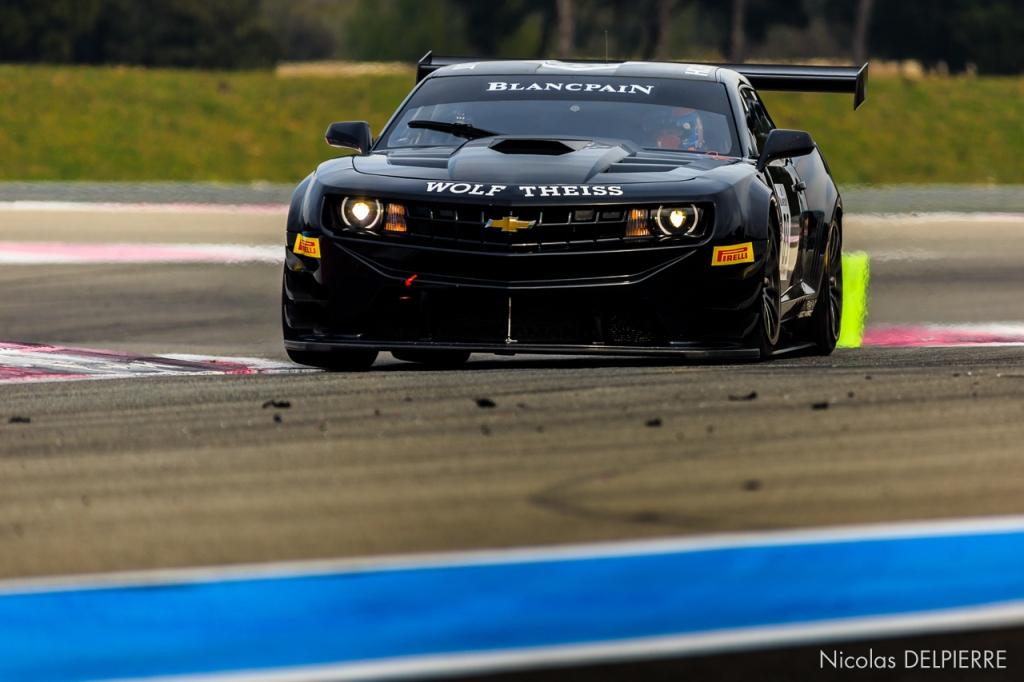 Blancpain Endurance Series - Essais au Castellet Paul Ricard