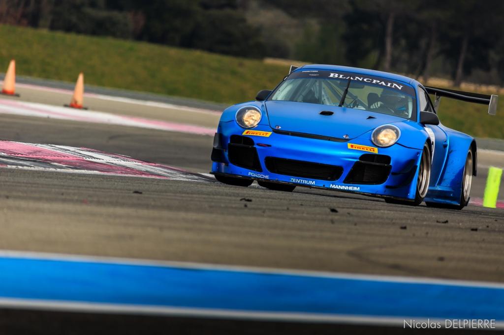 Blancpain Endurance Series - Essais au Castellet Paul Ricard - Porsche 997 GT3-R