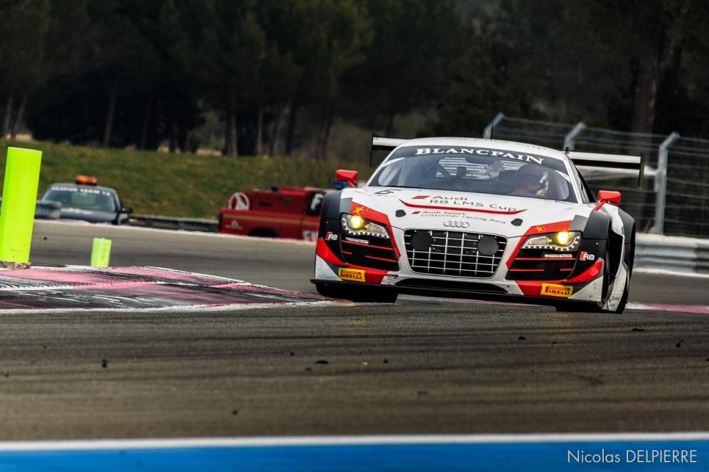 Blancpain Endurance Series - Essais au Castellet Paul Ricard - Audi R8 LMS Ultra