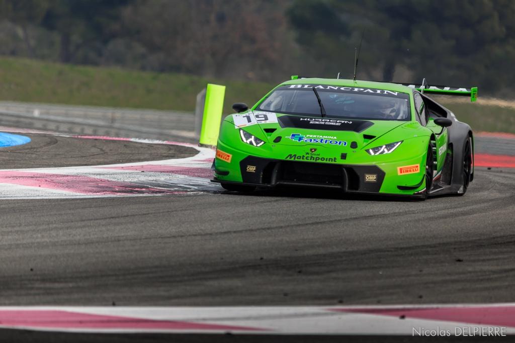 Blancpain Endurance Series - Essais au Castellet Paul Ricard - Lamborghini Huracan GT3