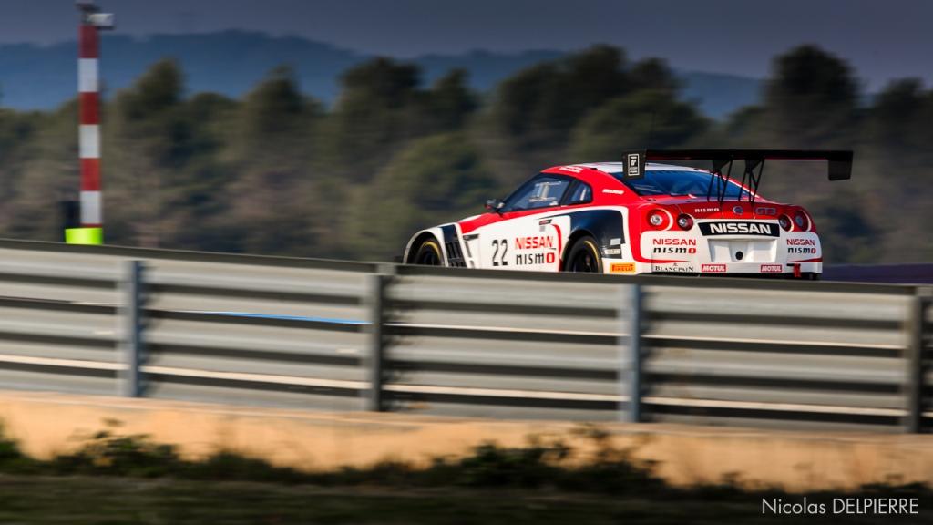 Blancpain Endurance Series - Essais au Castellet Paul Ricard - Nissan GT-R Nismo