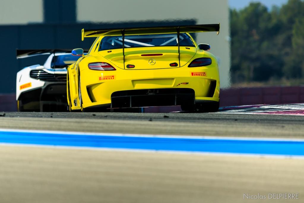 Blancpain Endurance Series - Essais au Castellet Paul Ricard - Mercedes AMG GT3