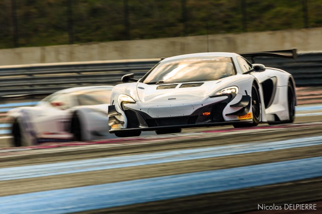 Blancpain Endurance Series - Essais au Castellet Paul Ricard - McLaren 650S GT3