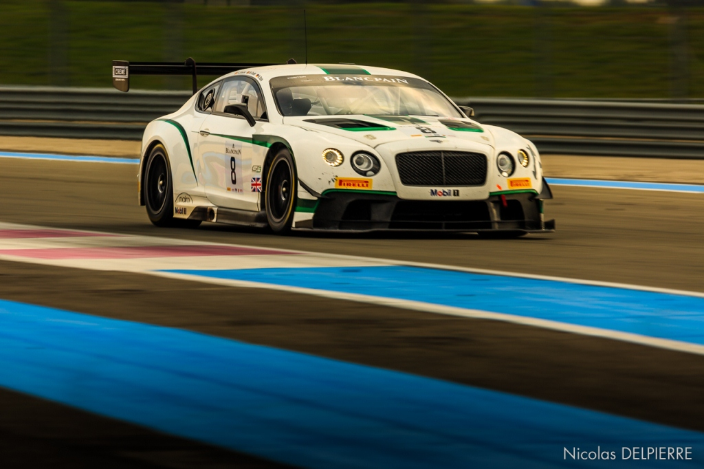 Blancpain Endurance Series - Essais au Castellet Paul Ricard - Bentley Continental GT3