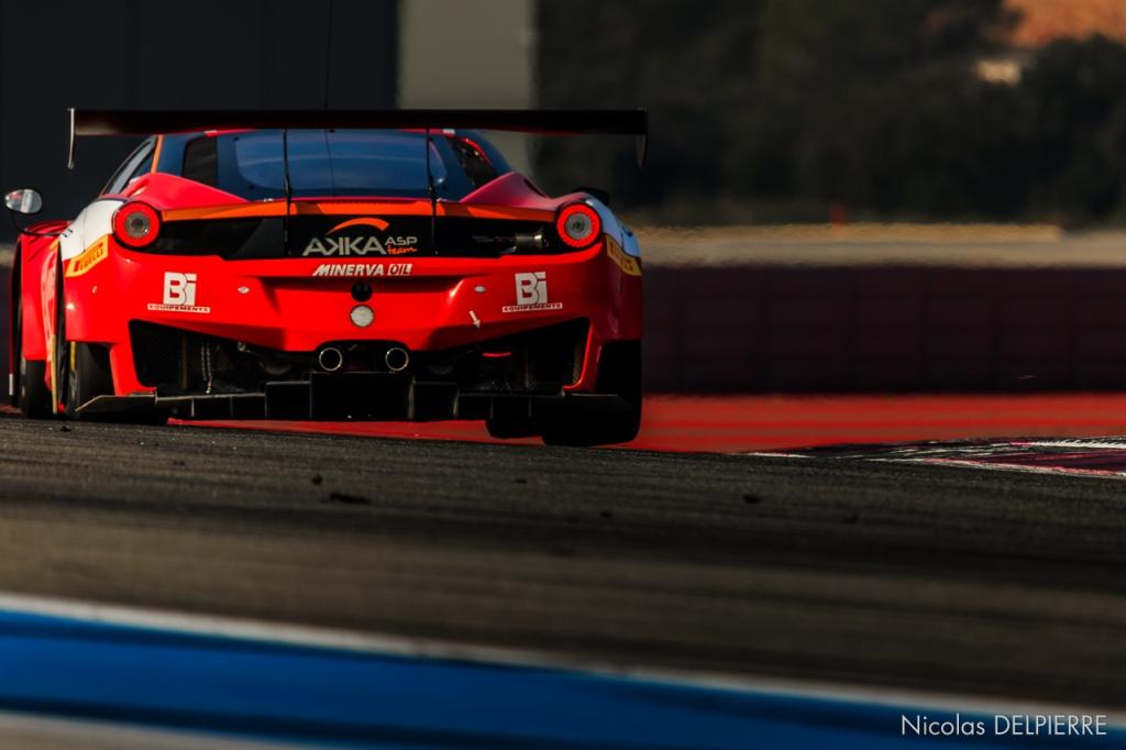 Blancpain Endurance Series - Essais au Castellet Paul Ricard - Ferrari 458 Italia GT3