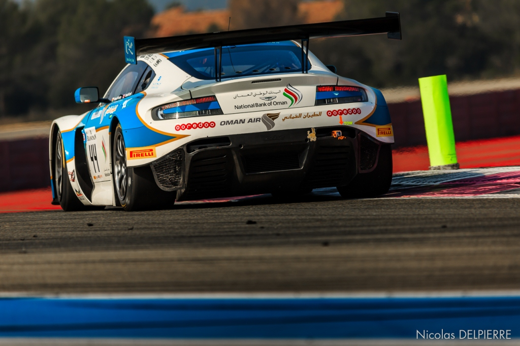 Blancpain Endurance Series - Essais au Castellet Paul Ricard - Aston Martin Vantage V12 GT3