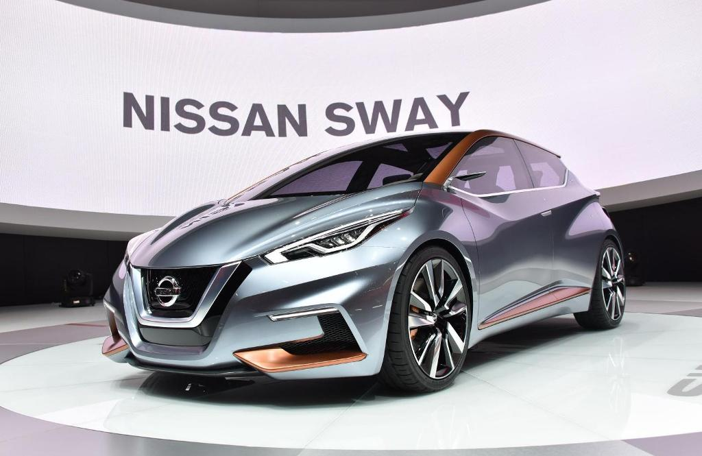 Salon de Genève 2015 - Nissan Sway Concept