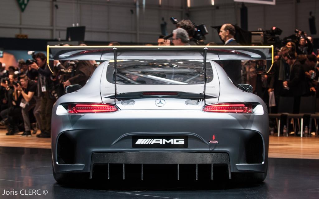 Salon de Genève 2015 : Mercedes AMG GT3