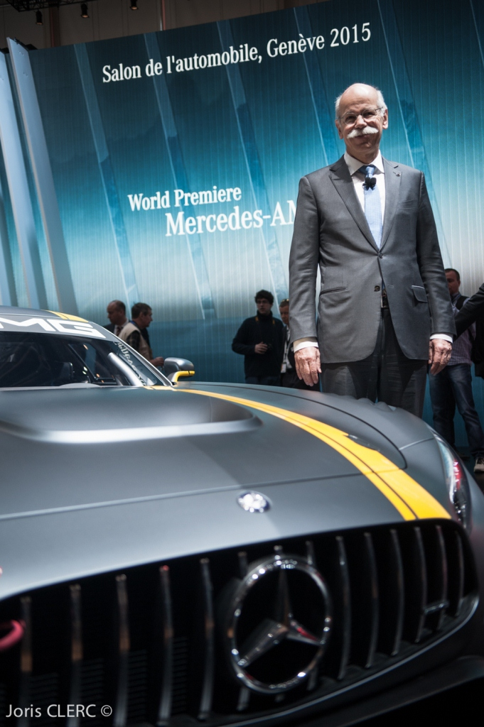 Salon de Genève 2015 : Mercedes AMG GT3 - Dieter Zetsche
