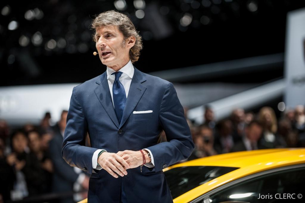 Salon de Genève 2015 - Lamborghini Aventador LP750-4 Super Veloce - Stephan Winkelmann