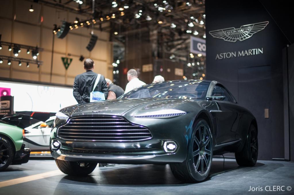 Salon de Genève 2015 - Aston Martin DBX Concept