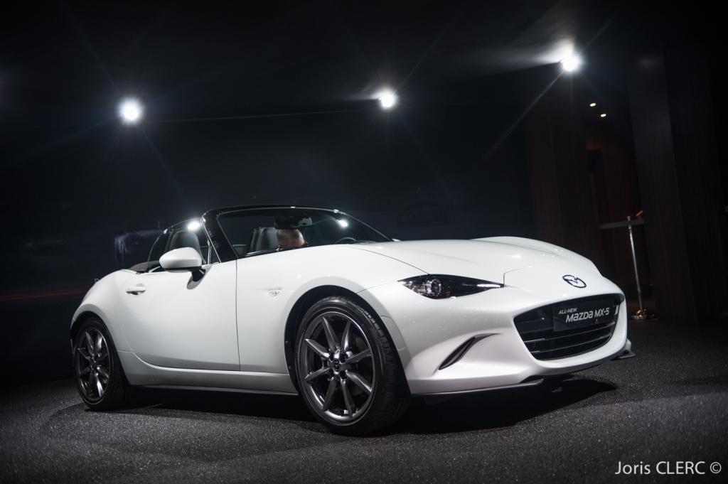 Salon de Genève 2015 - Mazda MX-5 Mk4 ND