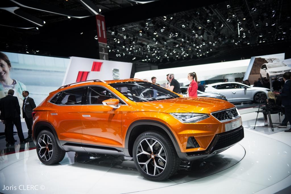 Salon de Genève 2015 - Seat 20V20 Concept