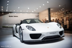 Salon de Genève 2015 : Porsche 918 Spyder