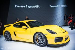 Salon de Genève 2015 : Porsche Cayman GT4