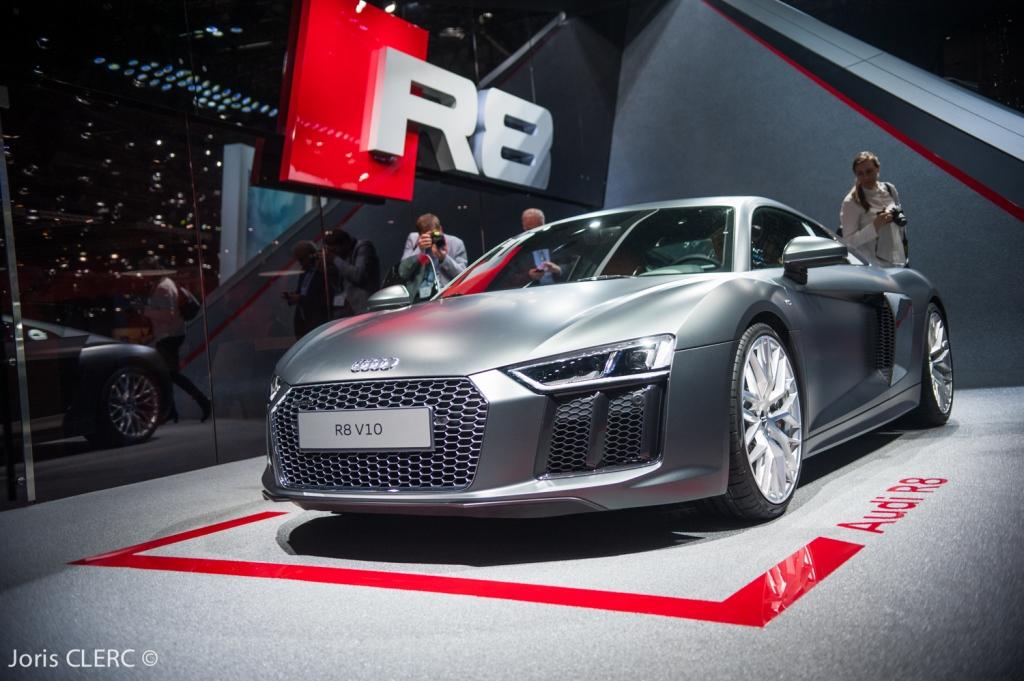Salon de Genève 2015 - Audi R8 V10