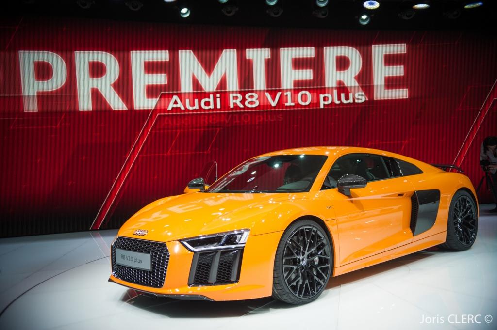 Salon de Genève 2015 - Audi R8 V10 Plus