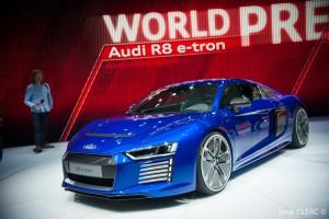 Salon de Genève 2015 - Audi R8 e-Tron