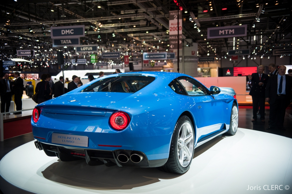 Touring Superlegerra Berlinetta Lusso - Salon de Genève 2015