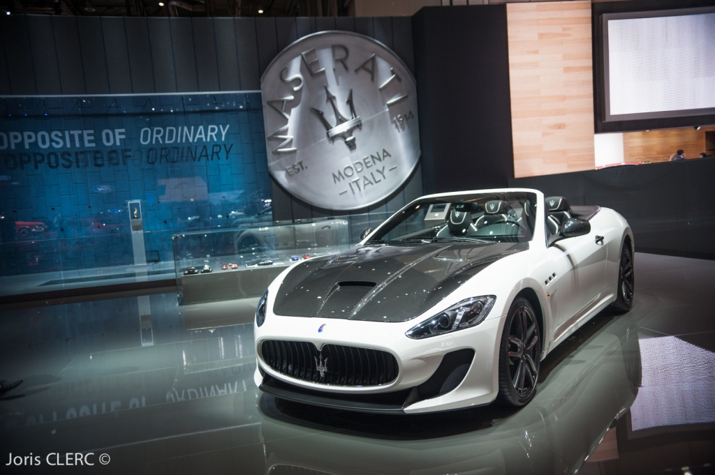 Salon de Genève 2015 - Maserati Gran Cabrio MC Stradale