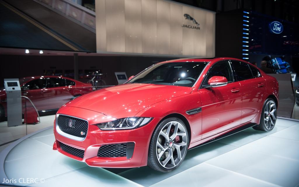 Salon de Genève 2015 - Jaguar XE