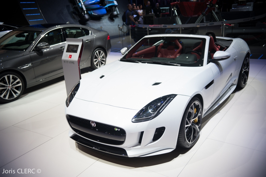 Salon de Genève 2015 - Jaguar F-Type V8R AWD
