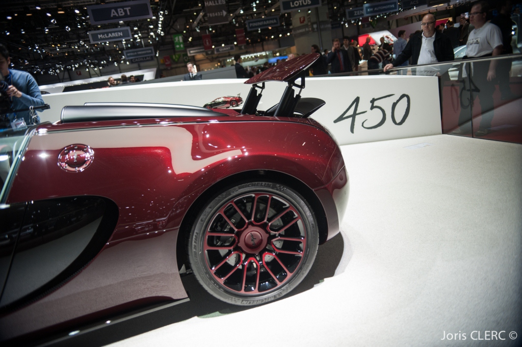 Salon de Genève 2015 - Bugatti Veyron Grand Sport Vitesse La Finale