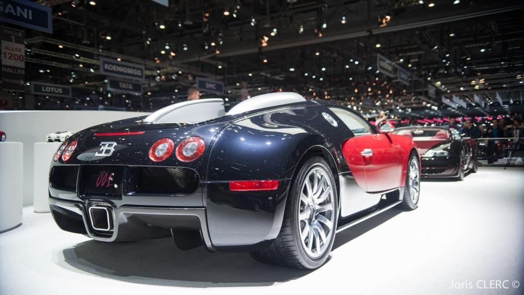 Salon de Genève 2015 - Bugatti Veyron 16/4